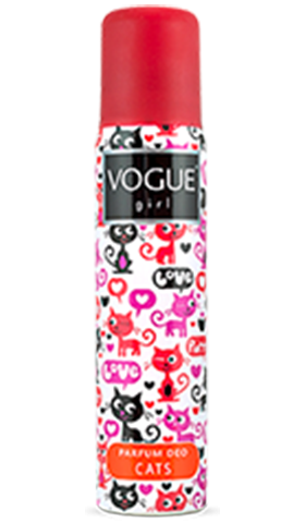 Vogue Girl Cats parfum deodorant
