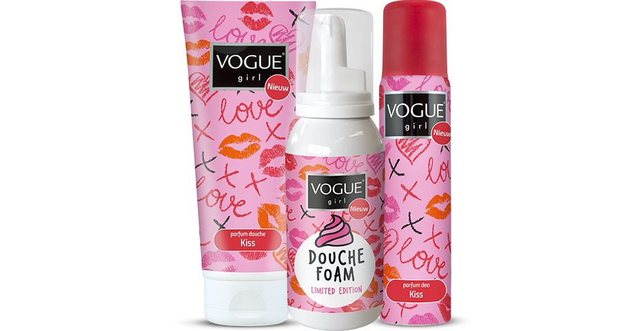 De nieuwe Vogue Girl Kiss